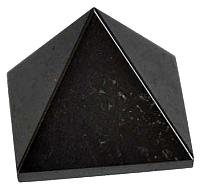 GPYHEM25: Hematite pyramid 25-30mm