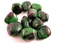 Ruby in Zoisite Tumbled Stone, XLG